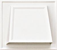 102 мм вент. отдушина с обратным каналом (клапаном), цвет белый